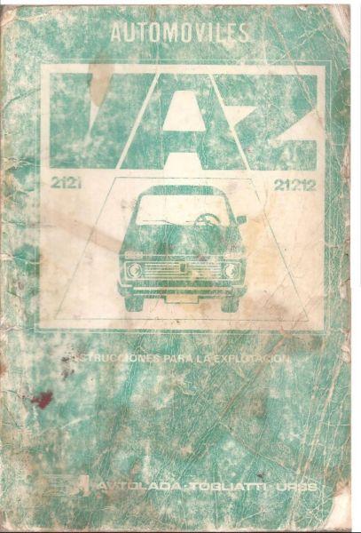 Manual Lada NIVA - de usuario en formato digital para PC