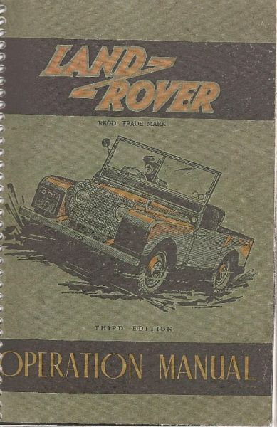 Manual Land Rover  - de usuario en formato digital para