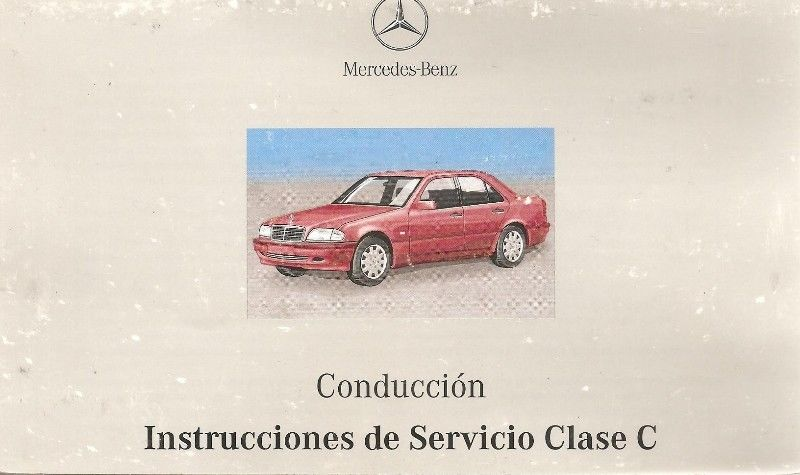 Manual MERCEDES BENZ CLASE C - de usuario en formato digital