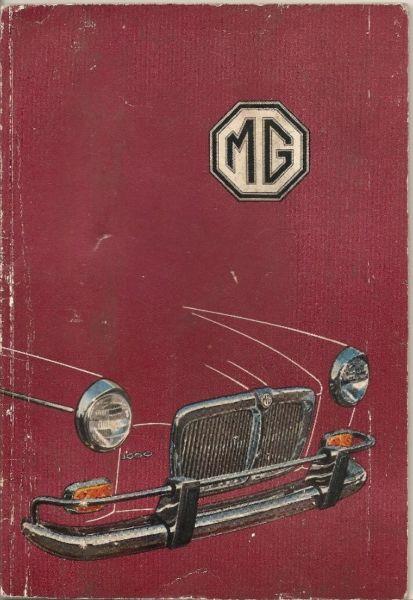 Manual MG  Magnette - de usuario en formato digital para