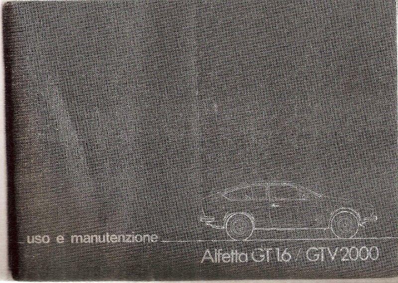 Manual de Alfa Romeo GTV - linea  - de usuario en