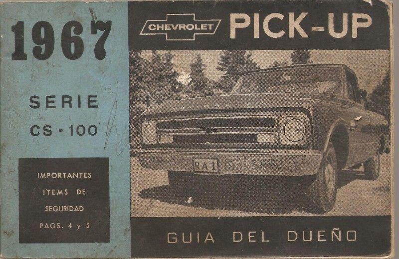 Manual de Chevrolet C100 año  - en formato digital para