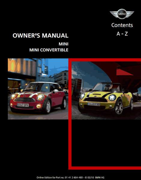 Manual de MINI COOPER año  - de usuario en formato