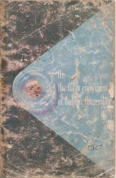 Manual de usuario Cadillac año  - en formato digital
