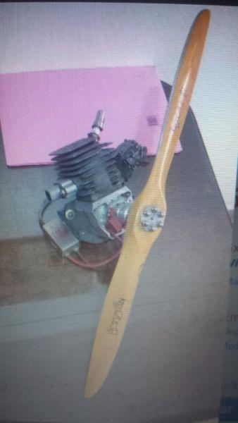 Motor Brison 4.2ci (69cc) Muy Potente (no Zenoah Dla Asp Os