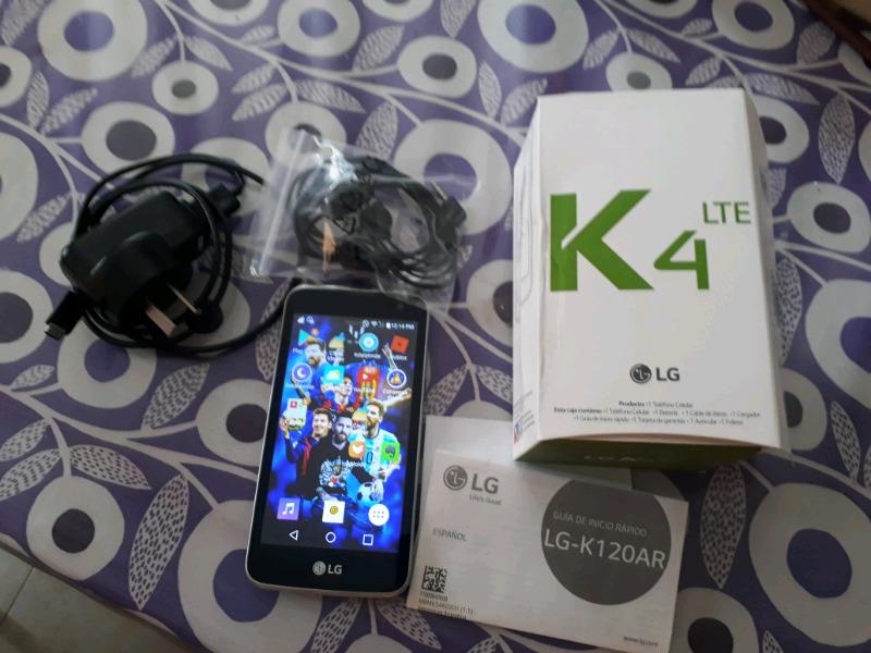 Vendo LG k4 libre