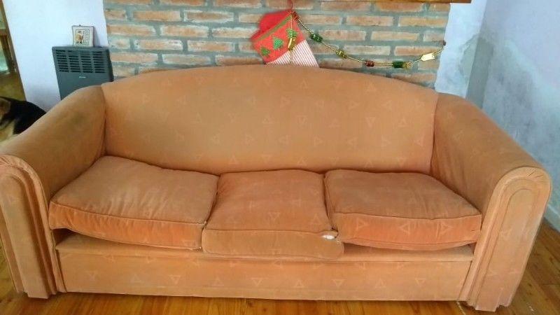 Vendo sillón de 3 cuerpos y de 1 cuerpo
