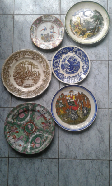 Platos decorativos antiguos posot class - Platos decorativos pared ...