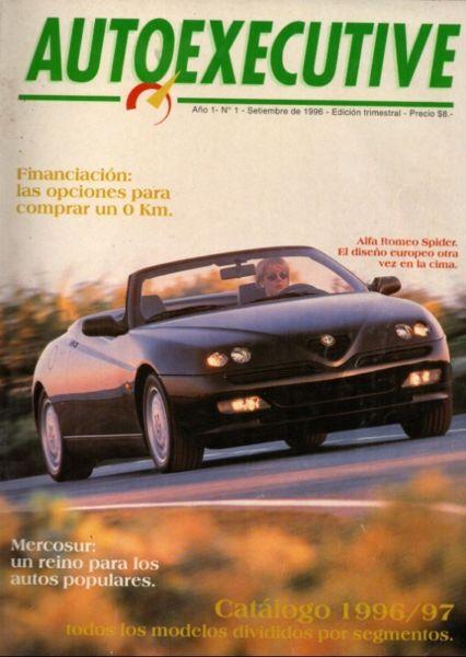 REVISTAS AUTOEXECUTIVE DE AUTOS DE LOS 90S