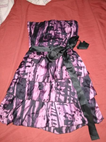 Vendo vestido de fiesta de seda