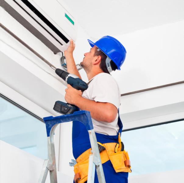Instalación y reparación de aires acondicionados