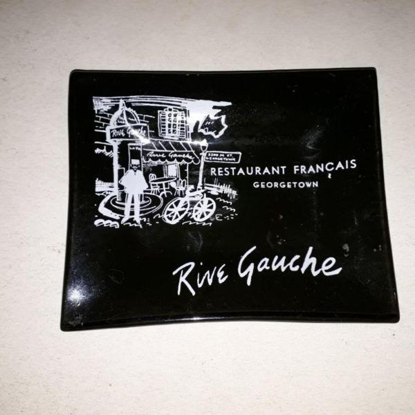 Cenicero Vintage Rive Gauche Restaurante Georgetown