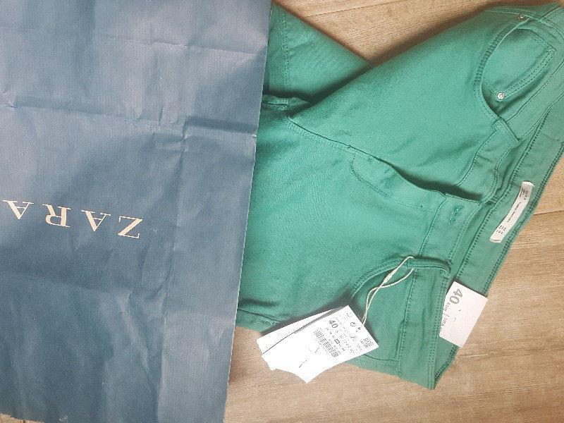 Pantalon Elastizado Zara Talle 40