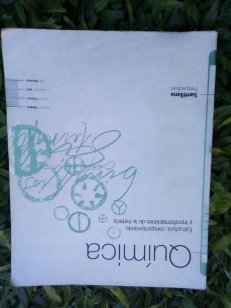 Vendo libro de Quimica. Editorial Santillana / perspectivas