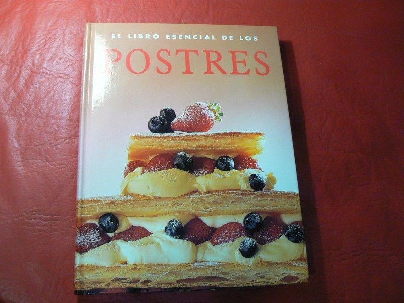 El Libro Esencial de los Postres. Editorial Konemann. Tapa