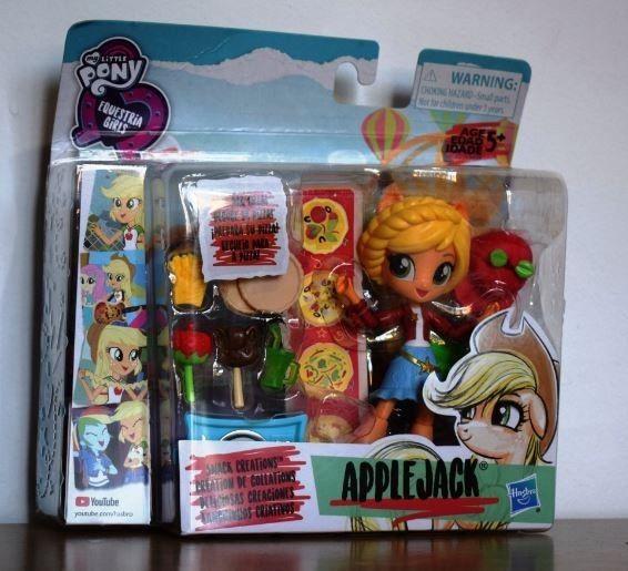 Equestria Girls Mini Apple Jack Muñeca Articulada Hasbro