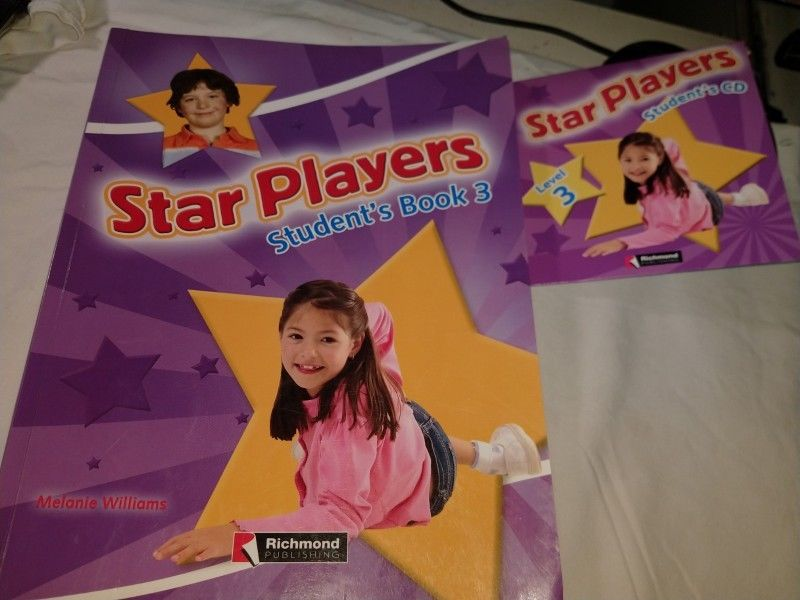 Star Players 3 - Student's Book + CD - Richmond SIN USO!!