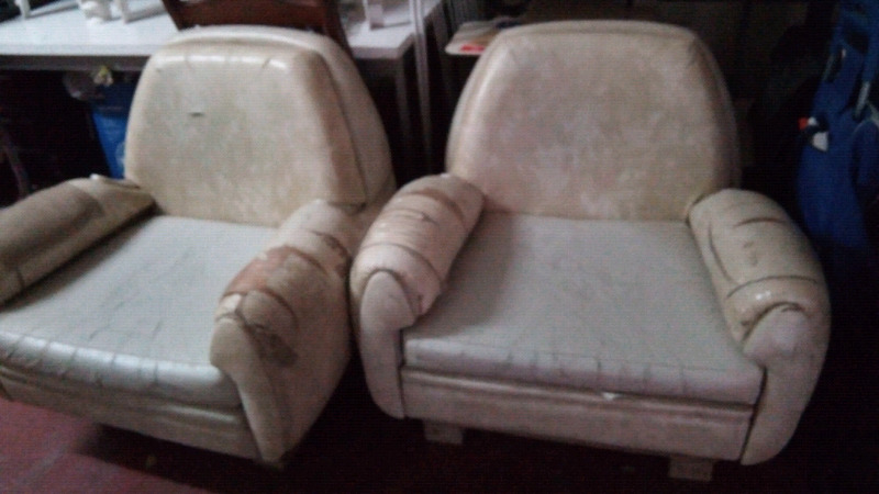 Vendo 2 sillones de cuero