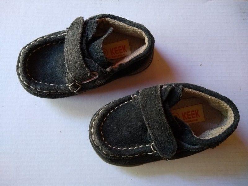 Zapato Nautico Mocasin Keek 18 nuevo gamusa azul Perfect
