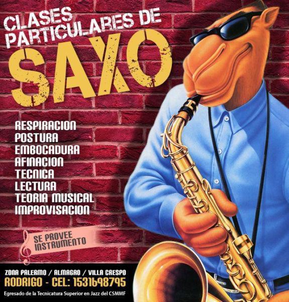 Clases de Saxo Palermo / Almagro / Villa Crespo!