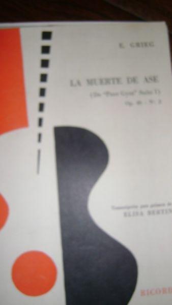 La Muerte De Ase Edward Grieg Partitura Para Guitarra 1.6