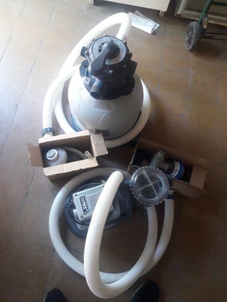 Bomba con filtro