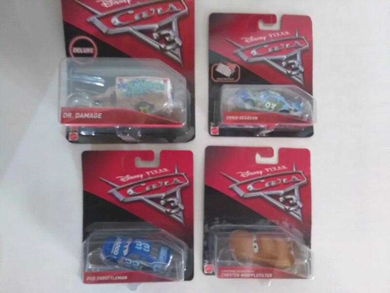 Cars 3 de Mattel Diecast Original, Importados.