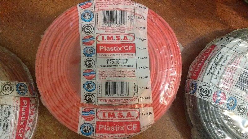 LIQUIDO PLASTIX CF IMSA LA MEJOR CALIDAD 3 Rollos de Cable