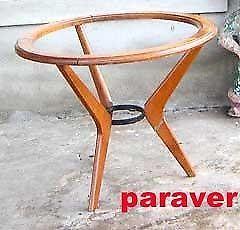 Magnifica y única mesa ratona diseño retro vintage 60s