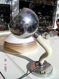 Muy buena lampara velador bocha globo bola esfera de