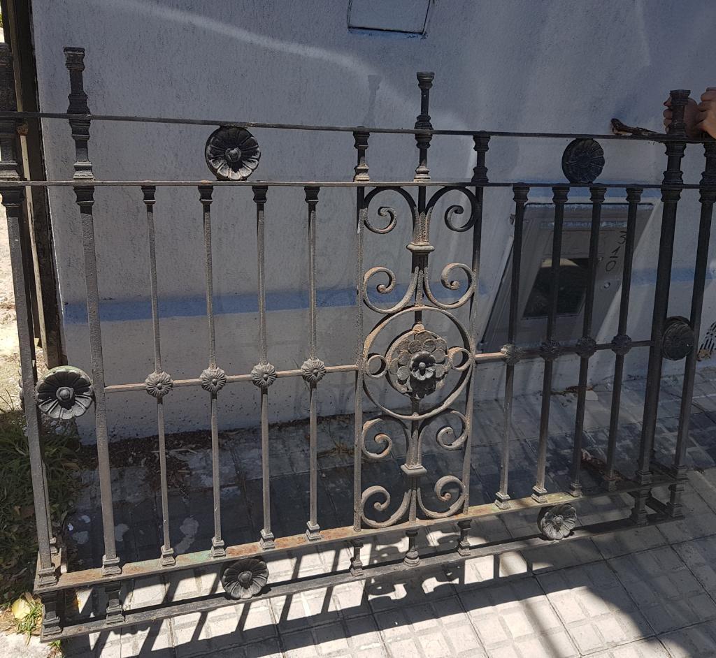 Reja Antigua Balcon Hierro Forjado