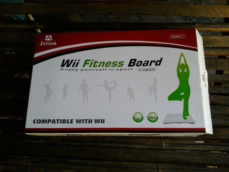 Wii Fitness Board, Nueva En Caja, Sin Uso.