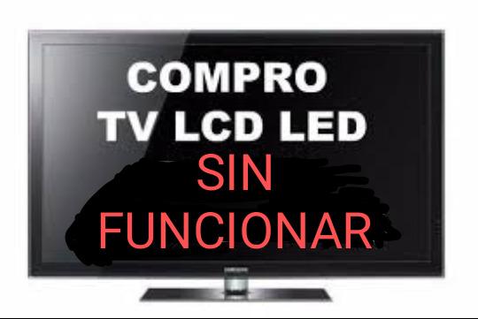 COMPRO TV LED SIN FUNCIONAR