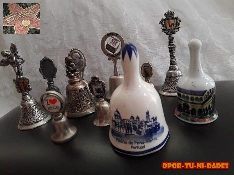 Hermosa colección de Campanas y dedales