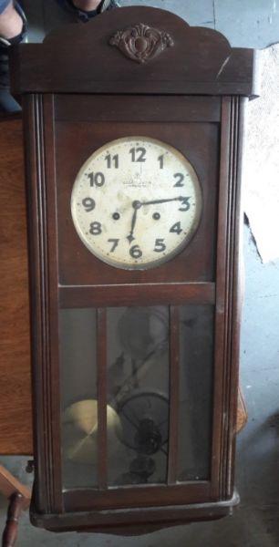 Reloj De Pared Aleman Junghans. #
