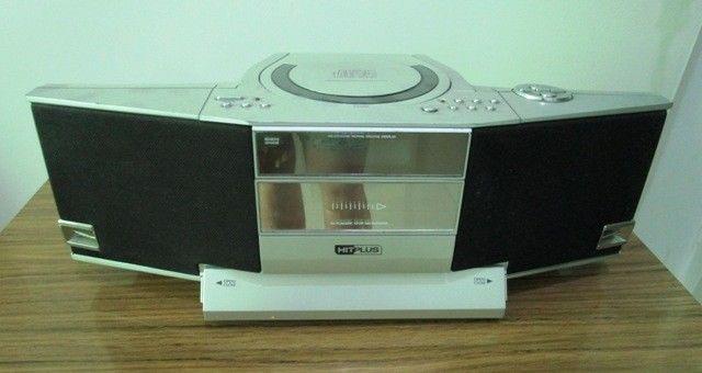 Reproductor de CD Portable con Radio y Casette HitPlus