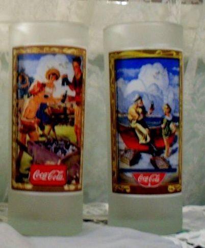 Vasos Coca Cola 2 x $200 LEER