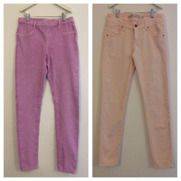 2 Pantalones Zara y Materia Nena Talle