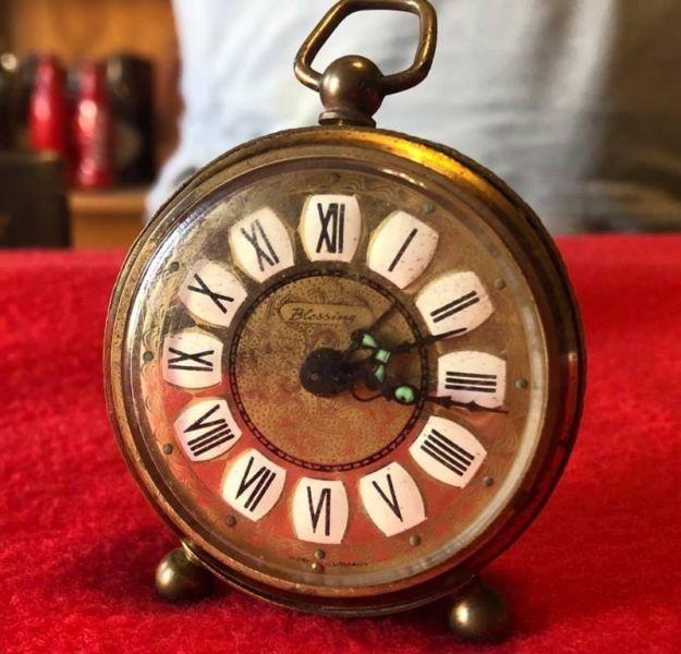 Antiguo Reloj Blessing Aleman A Revisar