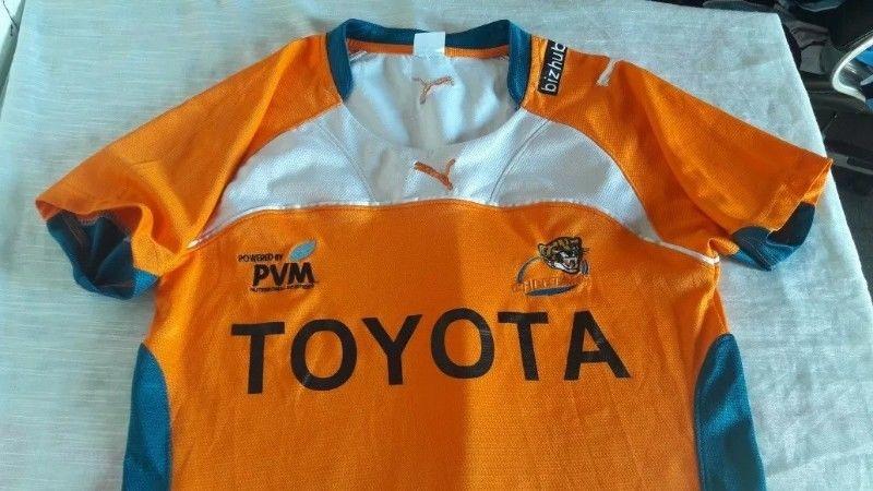 Camiseta Rugby Cheeta HS marca puma Original.muy buena Talle
