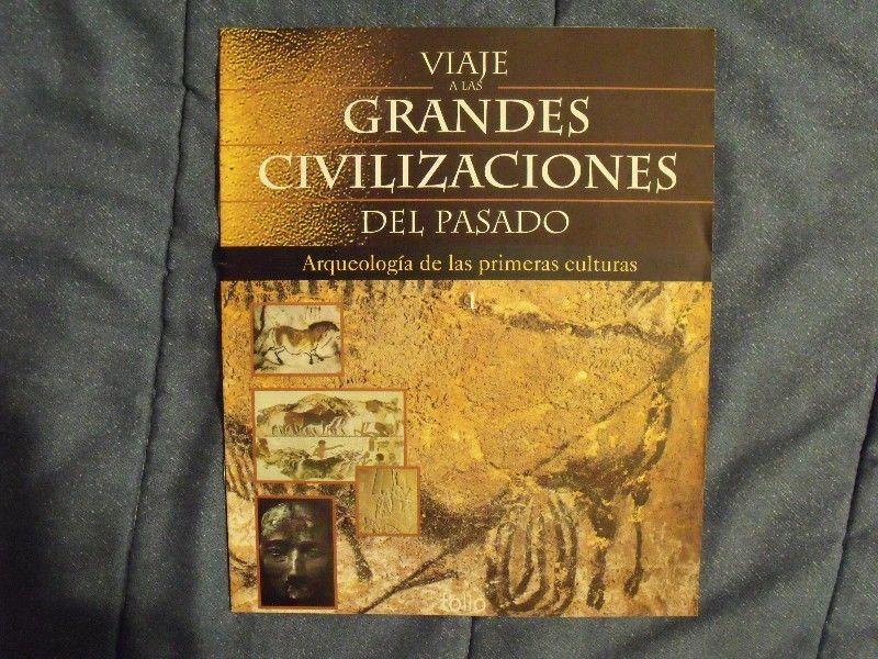 FASCICULO VIAJE A LAS GRANDES CIVILIZACIONES DEL PASADO -