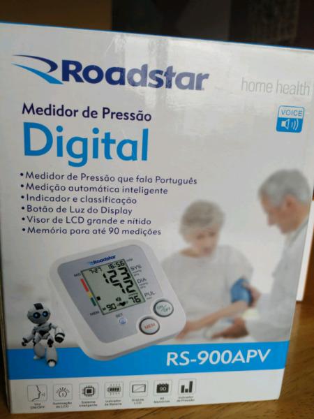 Tensiometro digital para brazo