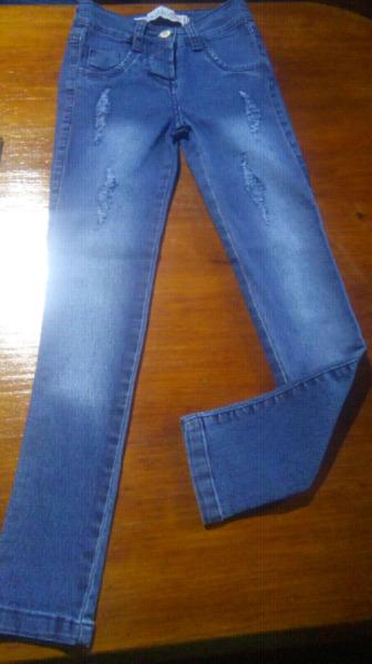 Jeans chupin niña. LIQUIDO AL COSTO!!!!!