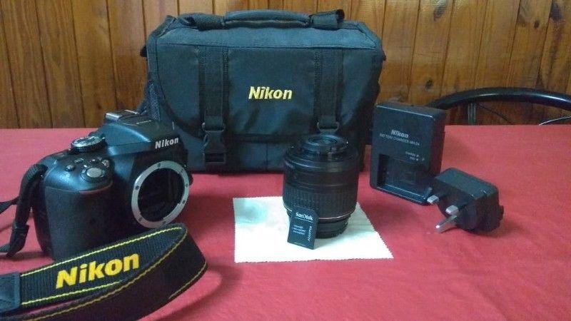 Nikon Reflex D Kit mm En Excelente Estado!