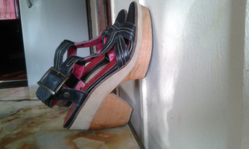 Sandalias de cuero n 37