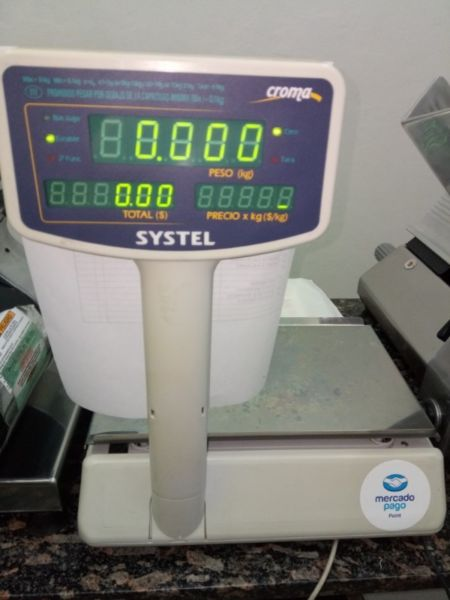 balanza comercial systel 30 kg