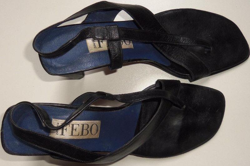 sandalias de mujer cuero número 39