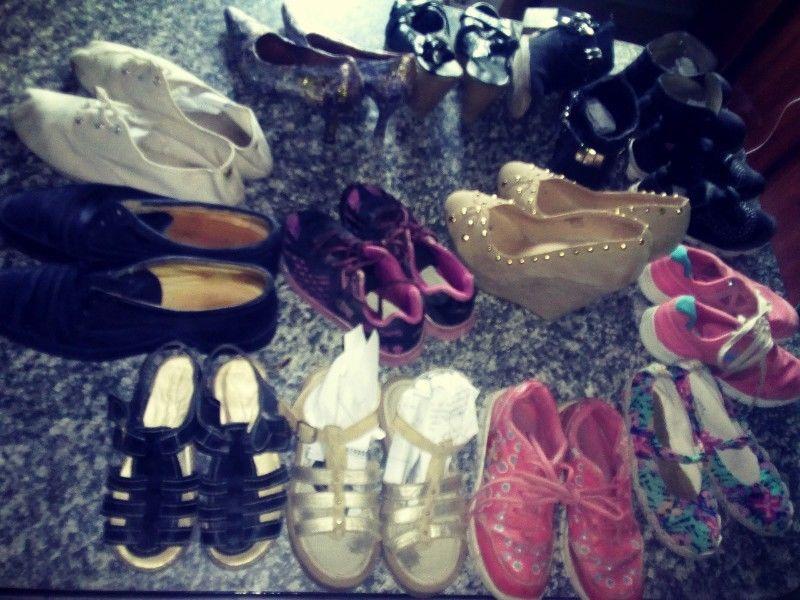 Lote de calzados varios
