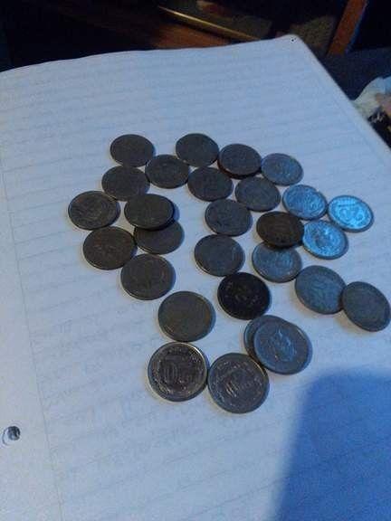 Vendo monedas de Nikel