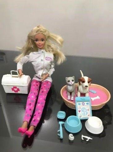 Barbie Veterinaria. Original Mattel De Los 90s